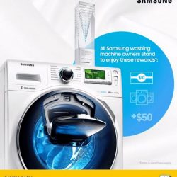 [Gain City] Samsung Electronics has been awarded the President's Design Award (PDA) for the design of the Samsung AddWash washing machine!
