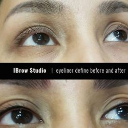 "[iBrow Studio] Get rid of lifeless eyes with ""Eyeliner Define"". With it, you will save the hassle of waking up early in"