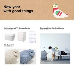 [MUJI Singapore] From spring cleaning to storage ideas for a more organized home, select from a range of functional items that come