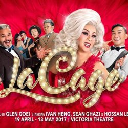 [SISTIC Singapore] Tickets for LA CAGE AUX FOLLES go on sale on 16 Jan 2017. Get your tickets through SISTIC at http://