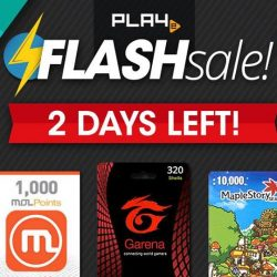 [PLAYe] About 48 hours left before our Flash sale ends. Don't miss this opportunity.