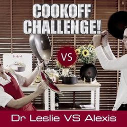 [Lazada Singapore] HUAT's cooking? Our CEO, Alexis Lanternier and Dr Leslie Tay challenge each other in a major cookoff! Come back