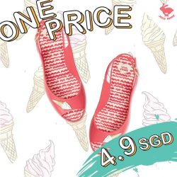 "[Jelly Bunny] Jelly Bunny ""END OF SEASON SALE UP TO 70%""SPECIAL ONE PRICE ONLY 4.9 SGD!!!Make your shopping more"