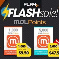 [PLAYe] Did you know? MOL Points is an almost all-in-one set of credits that lets you purchase your favourite