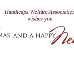 [Handicaps Welfare Association Rehab & Training Centre] 2017 is here at last!!The Handicaps Welfare Association (HWA) would like to wish a Happy New Year to all