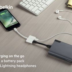 [Nübox] With Belkin RockStar, you can listen to your music & charge your iPhone 7/7 Plus wherever you go.Exclusive to