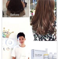 [Kenjo Salon] Amazing Result Perm ! Doing a full set OLAPLEX Treatment before VOLUME SETTING PERM! Setting Perm is one of our salon