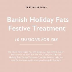 [Cheryl W Wellness & Weight Management] You can still enjoy our festive promo this CNY! 10 sessions of a relaxing aroma steam bath and a weight