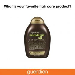 [Guardian] Do you have a must-have hair product to recommend? Find the product on our e-store here: bit.ly/
