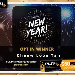 [PLAYe] Congratulations to our lucky winner for the New Year EDM Opt-In! Resident PLAYe Kitteh will drop you an email