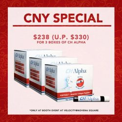 [ACTIV360 by ZEN'YU] Buy CH-Alpha 3 boxes get 1 box Free CNY Pineapple tarts!  40 lucky customers only Hurry!