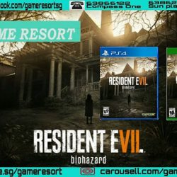 [GAME RESORT] PS4 & XB1 Resident Evil 7 Biohazrd,Resident Evil®7 biohazard sets a new course for the Resident Evil® series as