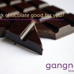 [GANGNAM LASER CLINIC] Rescue your skin with dark chocolate!Chocolate can...- Work with your gut bacteria to lessen inflammation in your heart.- Lower