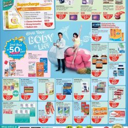 [Watsons Singapore] Enjoy amazing deals across participating brands like Eu Yan Sang, Bausch + Lomb and more! On top of that, get 3%
