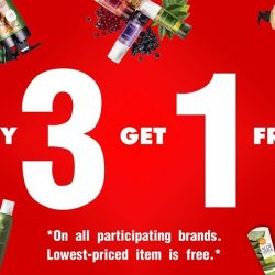 [Beaute Spring] This month, don't miss out on our buy 3 get 1 free promotion! Head on down now!