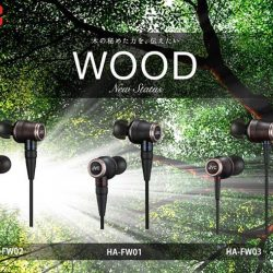 [Stereo] The JVC Wood series reference in-ear headphones are known for their true to life instrument timbre and warm engaging