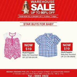 [Hush Puppies Apparel] Time to shop for your kids at the Hush Puppies Apparel warehouse sale!