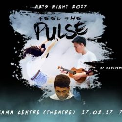 [SISTIC Singapore] Tickets for ARTS NIGHT 2017: PULSE are now on sale. Get your tickets through SISTIC at http://www.sistic.com.
