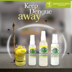 [Lemongrass House] Keep mosquitoes at bay and dengue away with our award winning Mosquito Repellent Range.★ All Natural ★ Non –Greasy Formula ★ Free