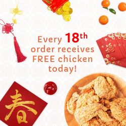 [foodpanda] Enjoy 8 pieces of Chicken FREE when you order with us today!As we step in to the Year of