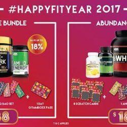 [GYMM BOXX Silver] Presenting the great deals for you from Fitlion this CNY! #Happyfityear #FLGBCNY #dontsaybojio #gooddealsdontmiss #rockandroll16jan17