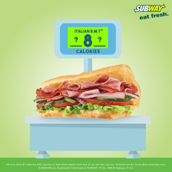 [Subway Singapore] We say enjoy your sub fuss free cause they are all under 500cals! But can you guess the calorie count