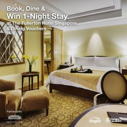 [Singtel] You've 2 weeks left to win a 1-Night stay at the luxurious Fullerton Hotel Singapore!Simply book and