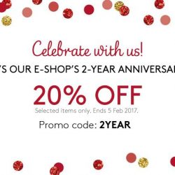 [Triumph International Singapore] Happy 2nd Anniversary to our E-shop! 20% OFF on us! Shop now: http://sg.triumph.com/offers/anniversary-sale