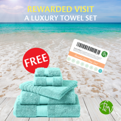[Bottea Verde] Redeem a luxury towel set when you visit our stores during our Rewarded Visit Promo. Learn More: https://goo.gl/