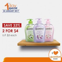 [Guardian] Guardian Moist Clean assorted handwash gently cleanses and moisturises your delicate hands with its soap-free formula, leaving hands cleansed