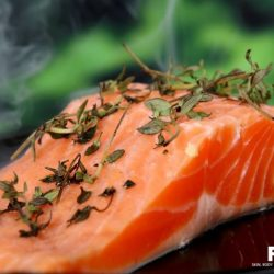 [FIL Skin & Body Intelligence] Salmon is rich in omega-3 fat DHA which is needed for brain cells to interact with each other. Every