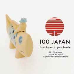 [Supermama] This Jan during the art week we will play host to 100 Japan - 100 products from various Japanese consumer labels