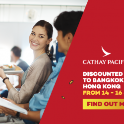 [Lazada Singapore] Heng on a trip with family and friends this Chinese New Year! Check out Cathay Pacific discounted fares to HK &