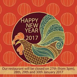 [O BANH MI] Dear Valued Customer, Please be informed that Chinese New Year's Eve (27th Jan, Friday) our shop will open until