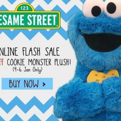 [Otaku House] C is for Cookie-Monster-wanna-eat-all-your-Lunar-New-Year cookies-so-buy-him-home-why-don't-