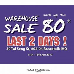 [Rad Russel] Last 2 days!Rad Russel Men & Ladies warehouse sale!