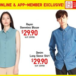[Uniqlo Singapore] Refresh your wardrobe this Chinese New Year with these stylish blouses and shirts now on Limited Offer.Shop Limited Offers: