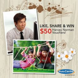 [Harvey Norman] Let's celebrate the start of 2017 with a chance to WIN $50 Harvey Norman Voucher!How To Join? 1)