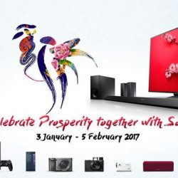 [Sony Singapore] In with the new, out with the old.Welcome the Year of the Rooster with attractive Ang Pow rebates. From