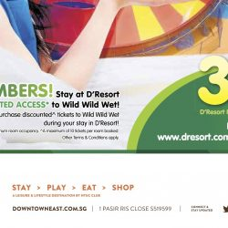 D'Resort: NTUC Members Enjoy 30% OFF Room Stay in Jan & Feb 2017