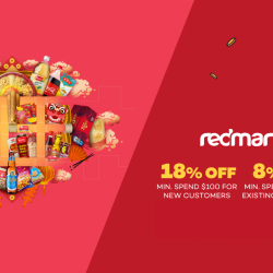 RedMart: Coupon Code for Up to 18% OFF Your Order