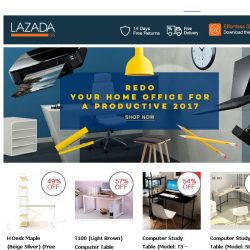 [Lazada] Redo Your Home Office For 2017