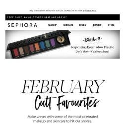 [Sephora] Pssst...what we're whispering about