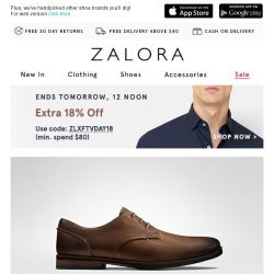[Zalora] Clarks: Craftsmanship and Contemporary Design for an Unbeatable Finish