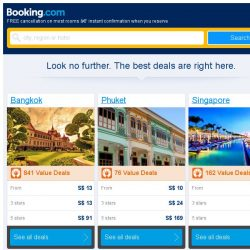 [Booking.com] Bangkok and Phuket – great last-minute deals from S$ 10