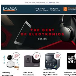 [Lazada] The Best Of Electronics