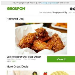 [Groupon] Choo Choo Chicken / 2 Outlets: Mani-Pedi Services at Dollhouse Nails
