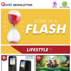 [Qoo10] Gone in a FLASH! River Safari Tickets Only $16.90! Plus, up to 80% Off Lifestyle Deals