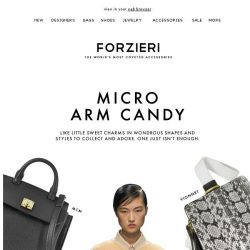 [Forzieri] Bag Stories | The World is Going Micro