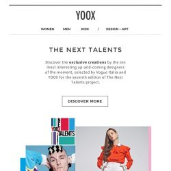 [Yoox] The Next Talents: upcoming designers selected by Vogue Italia and YOOX